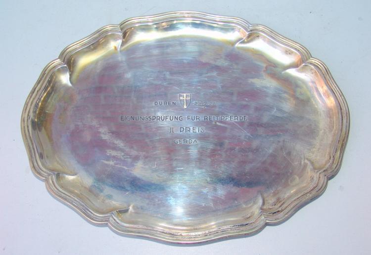 2 Anbietschalen 800er Silber 30er Jahre, 154g