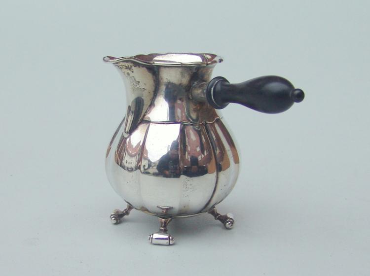 Mocca-Kanne, 800er Silber