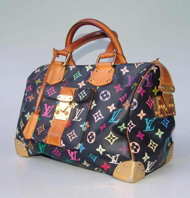 Louis Vuitton: Speedy 30 Monogram Multicolore Canvas