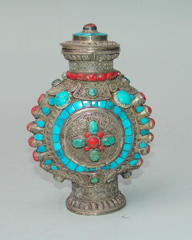 Tibetischer Vorratsbehälter
