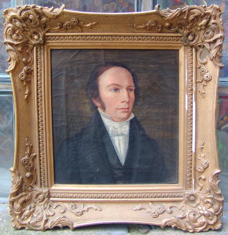 Porträt des Friedrich Dahlenkamp, Augenarzt in Iserlohn, um 1840