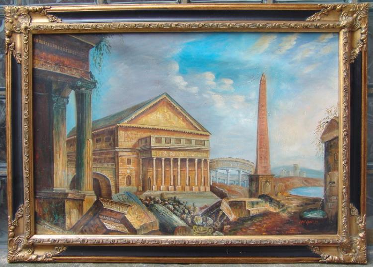 Ansicht des Antiken Roms