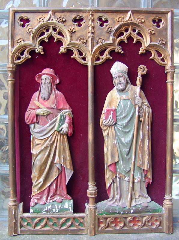 Altarretabel  mit Heiligen 19. Jhd.