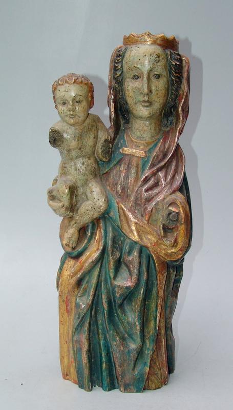 Mutter Gottes mit dem Kind, nach rheinischem Vorbild des 15.Jhd.