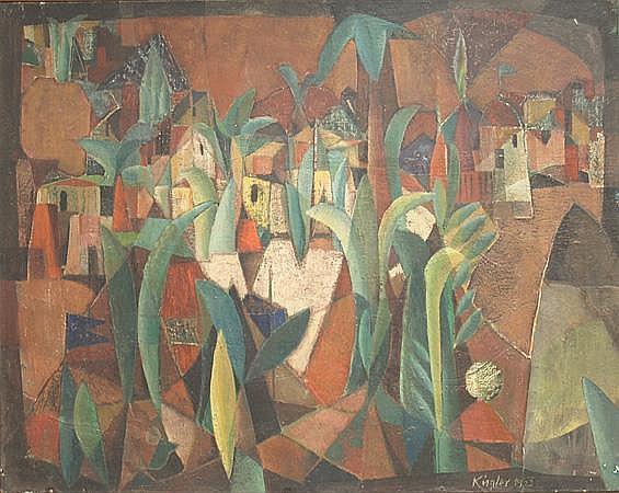 Kügler, Rudolf (geb.1921 Berlin) Landschaft, so