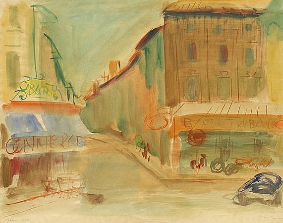 Laves, Werner (1903 Berlin 1972) Ex en-Provence,