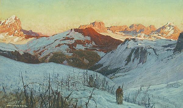 Prinz, Karl Ludwig (1875 Wien 1944) Verschneite