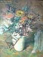 Treitel (1. Hälfte 20. Jh.) Blumenstillleben in