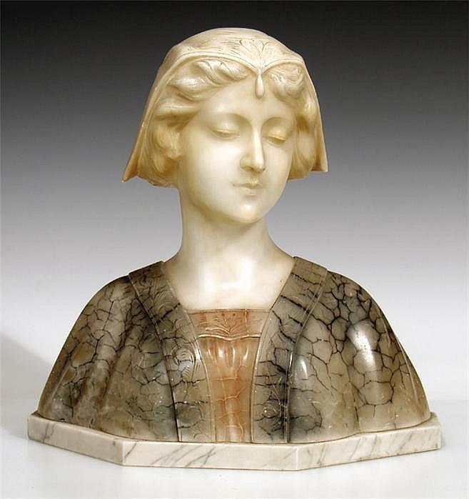 Vaerenbergh, Gustave van (1872-1927) Büste eines