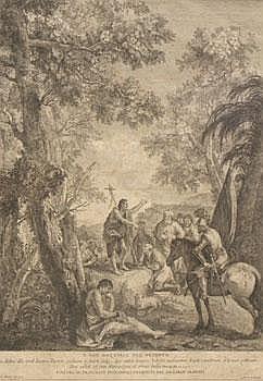 Monaco, Pietro (1707-1772)Battista nel Derserto