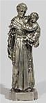 Skulptur des Heiligen Antonius von Padua.
