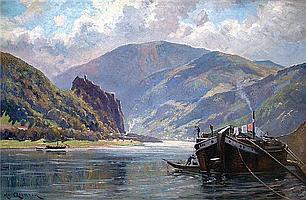 Quarck, Karl (1869 Rudolstadt-Dresden 1950) Blick