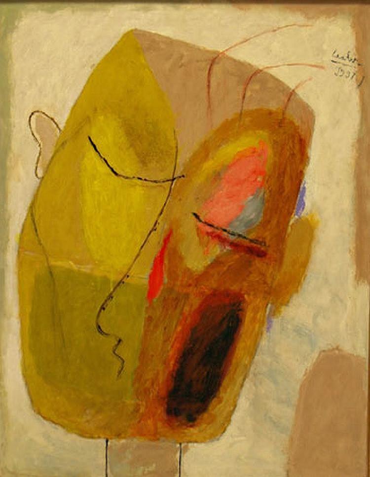 Laabs, Hans (1915 Treptow-Berlin 2004) Kopf eines