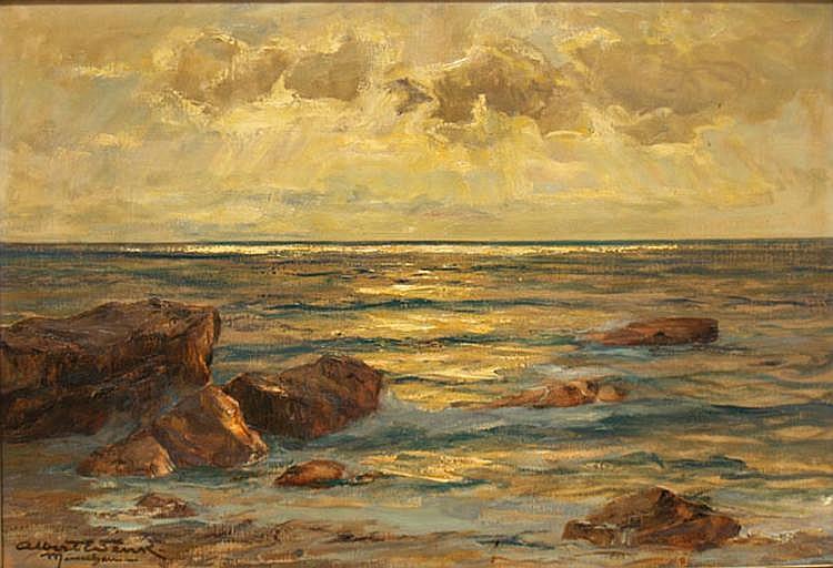 Wenk, Albert (1863 Bühl-München 1934) Meeresküste