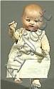 Kleines Armand Marseille-Baby. Vollkopf aus Masse,