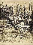 Arndt, Leo (1857-1945) Drei Radierungen mit