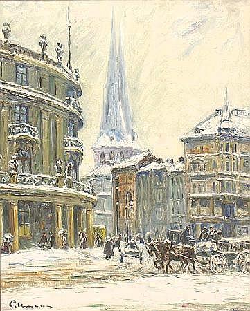 Pallmann, Kurt (1886 Berlin 1952) Winterliche