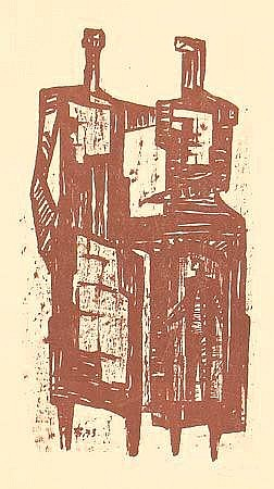 Balden, Theo (1904-1995) 3 Holzschnitte