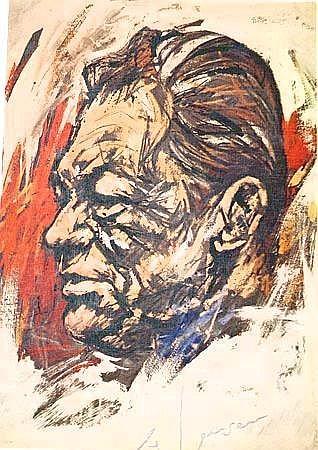 Jensen, Ole (geb.1926 Stockholm) 7 Offsetdrucke