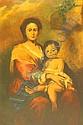 Putz, Ludwig (1866 Wien 1947) Mutter mit Kind.