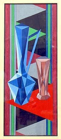 Johansson, Eric (1896-1979) Futuristisches