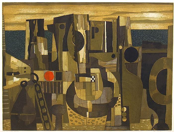 Kügler, Rudolf (geb.1921) Werft, so li. unten mit