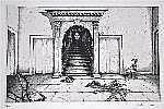 Escher, Rolf (geb. 1936) Treppenaufgang. Radierung