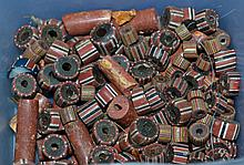 LOT OF MISC. LOOSE AFRICAN TRADE BEADS  100+ Loose african millefiore glass trade beads.  Condition all jewelry sold as is.