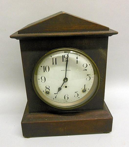 Help identifying model and dating this Seth Thomas adamantine mantel clock