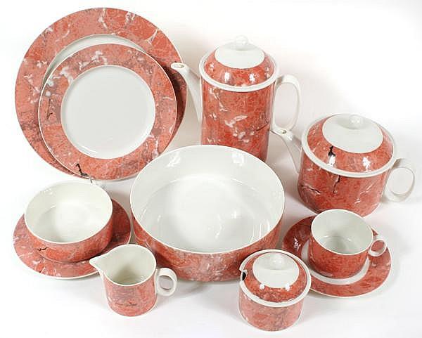 villeroy and boch siena pattern dinnerware 77 pieces contem. Black Bedroom Furniture Sets. Home Design Ideas