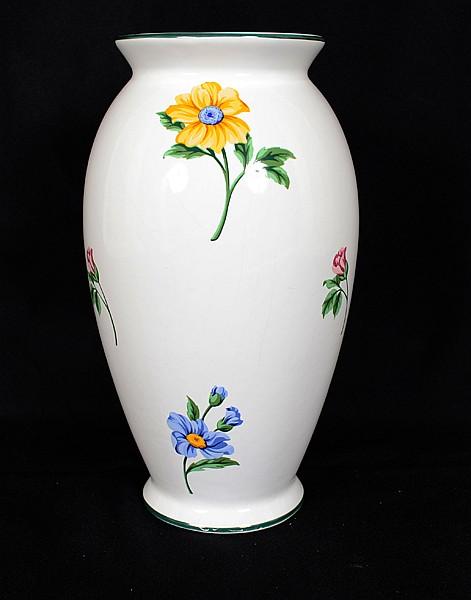 Tiffany Co Porcelain Vase Portuguese Porcelain Vase With