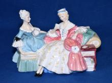 ROYAL DOULTON FIGURINE ''THE LOVE LETTER'' HN# 2149 - Condition: Age appropriate wear; All items are sold as is.