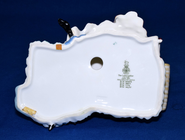 boat letters royal doulton figurine the letter hn 2149 condit 20660