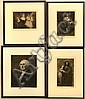 TIMOTHY COLE (1852-1931) Four framed engravings on tissue thin paper. (1) George Washington after Gilbert Stuart; (1) St. Joseph and Child Jesus; (1) Mother & Child; and (1) 'L'Intimate' after Carriere. All pencil signed except George Washington., Timothy Cole, Click for value