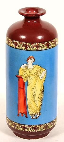 Athenian Art Ware Vase Frank Beardmore And Co Athenian Art