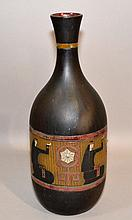 EGYPTIAN REVIVAL LUSTER VASE  Vase, 14''H. 6''W. No Mark. Condition, age appropriate wear.