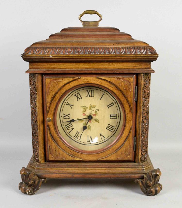 German movement mantel clock