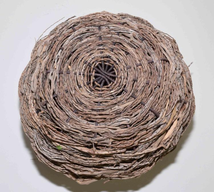 Basket Art By Samuel Yao : Samuel yao woven basket  h w
