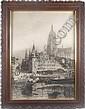 BERNHARD K.J. MANNFELD (German 1848-1925) View, Bernhard Mannfeld, Click for value
