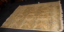 INDO-ORIENTAL RUG - Measures: 7'8'' x 9'8'' - Condition: Has been refringed.