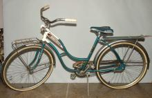 GIRL'S BIKE, AMF-Jet Pilot, 37''H x 67''L. Condition: Age appropriate wear. All items sold as is.