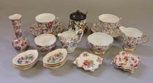 CHINA COLLECTION. A variety of makers, (15+) pieces. Condition: Age appropriate wear. All items sold as is.