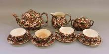 BURSLEY WARE, ENGLAND COLLECTION. Cherry Blossom pattern, (10) pieces. Condition: Age appropriate wear. All items sold as is.