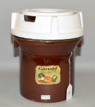 Sudkeramik stoneware fermentation pot, 12''H x 11'' diameter. Excellent condition, made in Germany.