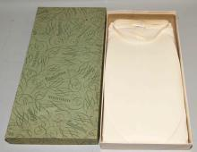 Vintage Manhatten Masque shirt in original box, Phillips Collection, Butler, PA.  Condition: Age appropriate wear. All items sold as is.