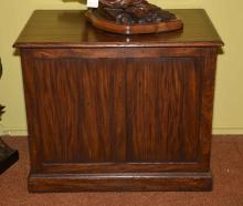 ALFONSO MARINO CUSTOM WOOD PEDESTAL - Measures: 30''H x 36''W x 24''D; From the Estate Collection of Robert B Fay Jr.