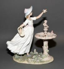LLADRO ''SPRING JOY'' #6106 - 1994; Measures: 13''H x 11''W - Condition: Very good condition; All items sold as is.