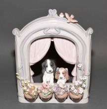 LLADRO ''PLEASE COME HOME'' #6502 - Measures: 9''H x 7''W - Condition: Very good condition; All items sold as is.
