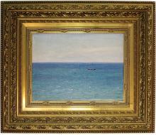 "Russian Nikolay Dubovskoy ""On the black sea"" 1900"