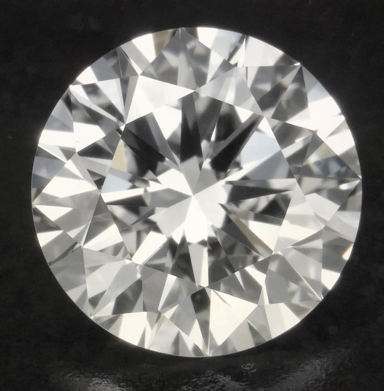 Ct 1 00 Round Diamond Certified Diamond If D Excellent